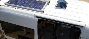 Placas solares en caravanas
