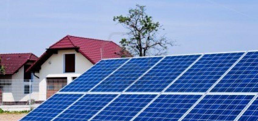 Placas solares para un hogar