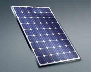 Panel monocristalino solar